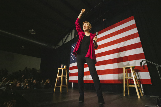 Sen. Elizabeth Warren will hold a Saturday rally in Lawrence, Mass., where many expect her to announce a 2020 presidential run. (Joe Crimmings/flickr.com/photos/joecrimmings/)