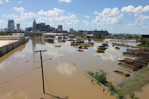 Some are comparing last week's Tennessee flooding to May 2010, when torrential rains in two days resulted in deaths and widespread property damage. (Nashville.gov)