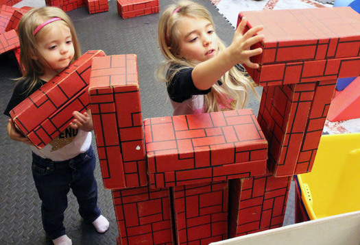 The University of Idaho developed BLOCK Fest in 2005 to harness the power of play in helping children learn. (Idaho Association for the Education of Young Children)