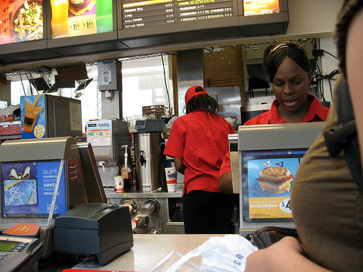 The current federal minimum wage, $7.25 per hour, has not increased since July 2009. (Consumerist.Com/Flickr)