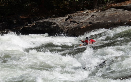 Gauley River National Recreation Area is one of the West Virginia spots that has used the Land and Water Conservation Fund. (WikimediaCommons)