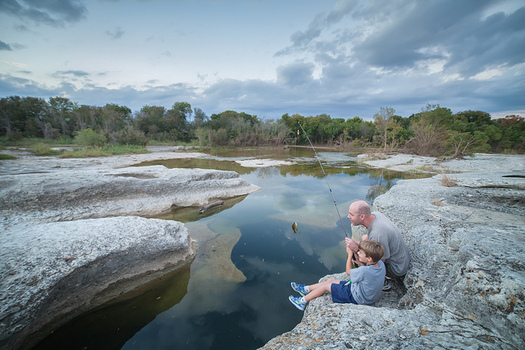 Since 1965, the Land and Water Conservation Fund has tapped revenues from offshore oil and gas development to preserve public lands, including McKinney Falls State Park. (Roy Niswanger/Flickr)