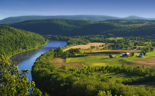 The Susquehanna River is a major water source that empties into the northern end of the Chesapeake Bay. (Nicholas A. Tonelli/Flickr)