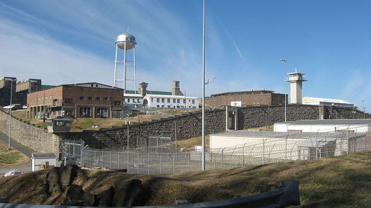 The Kentucky State Penitentiary complex in Eddyville, Ky., holds more than 850 people and has been in operation since the 1880s. (Wikimedia Commons)