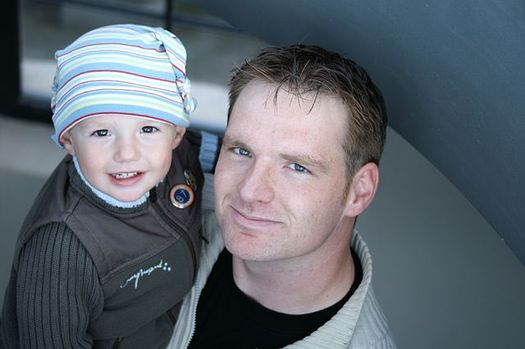 In 2012, there were 176,000 stay-at-home dads responsible for taking care of children. (Onkelbo/Wikimedia Commons)