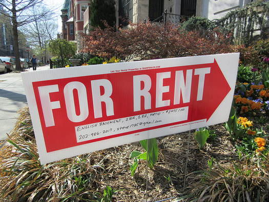 In Illinois, 42 percent of the renters considered extremely low-income are people in the workforce. Another 26 percent are senior citizens. (Elvert Barnes/Flickr)