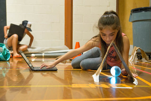 A federal grant program funds after-school and summer opportunities such as this one in White Salmon for nearly 18,000 Washington kids. (School's Out Washington)