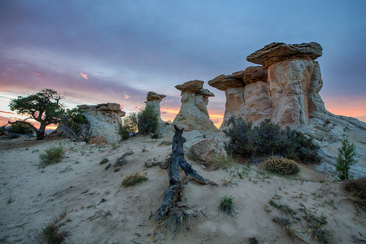 Grand Staircase-Escalante is one of two national monuments reduced in size by the Trump administration last year. (Bureau of Land Mgmt.)