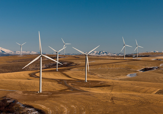 With coal becoming less affordable, Idaho Power says it will transition completely to renewable energy sources, like wind, over the next two decades. (U.S. Department of Energy/Flickr)