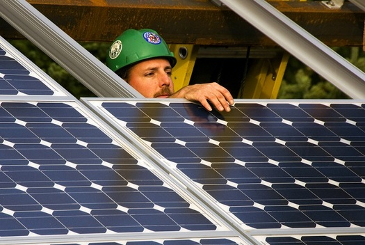 A new bill aimed at expanding access to solar energy in Arkansas is expected to create hundreds of new jobs in the solar power industry. (WikimediaCommons)
