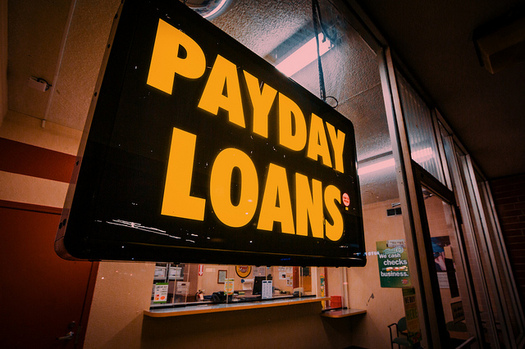 The Indiana Institute for Working Families says a bill in the Indiana House could allow small dollar loans that charge interest rates of up to 99 percent. (Tony Webster/Flickr)