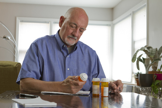 The average older American takes 4.5 prescription drugs per month.  (Burlingham/AdobeStock)