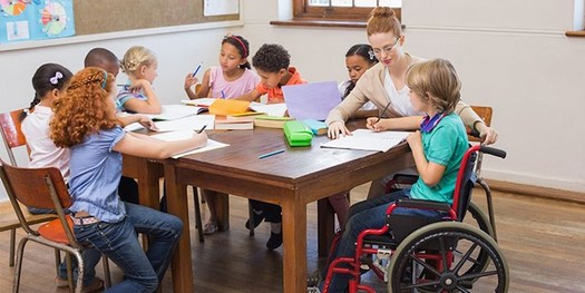 South Dakota schools educate an increasing number of students with special needs each year, but lack much of the funding promised by the federal government. (buckslu.org)