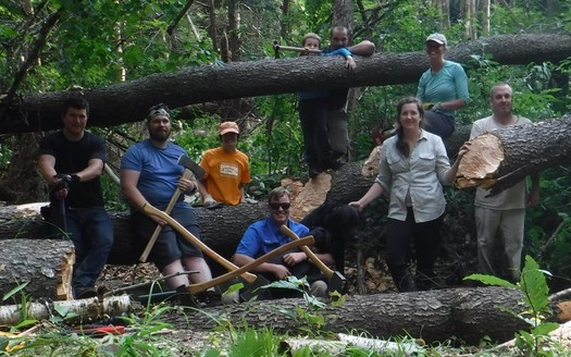 The Friends of Allegheny Wilderness has maintained a wilderness trail in the Allegheny National forest for nearly two decades. (Friends of Allegheny Wilderness)