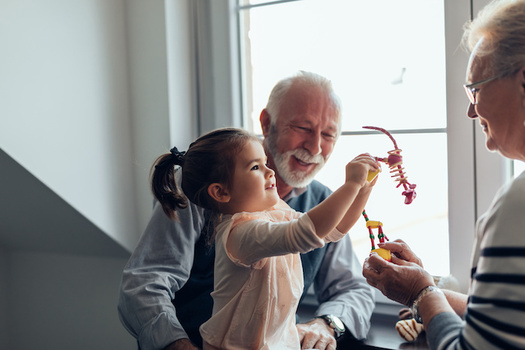 More than 95,000 children in Kentucky are cared for by their grandparents or other relatives, according to the U.S. Census Bureau. (bernardbodo/Adobe Stock)