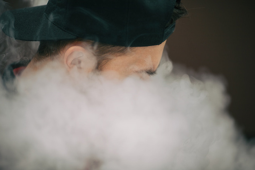 One in 10 eighth graders tried e-cigarettes in 2018, according to a Washington state survey. (aleksandr_yu/Adobe Stock)