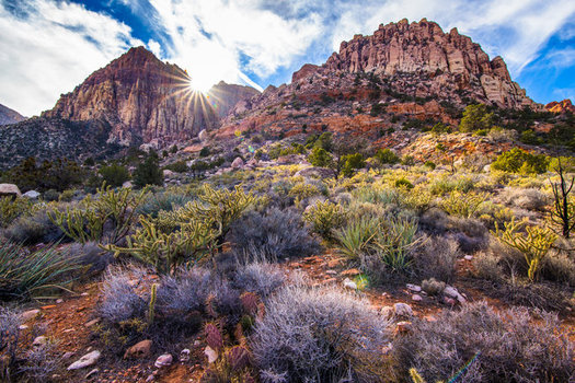 Red Rock Canyon is one of many sites that has benefitted from the Land and Water Conservation Fund over the years. (Battle Born Progress)