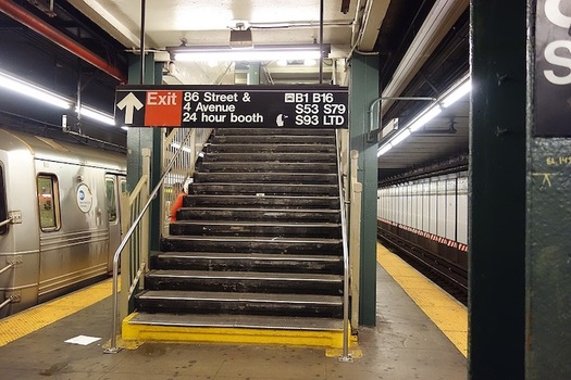 Three-quarters of New York City subway stations still are inaccessible for wheelchair users. (Tdorante10 [CC BY-SA 4.0 (https://creativecommons.org/licenses/by-sa/4.0)])