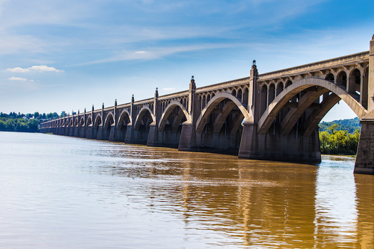 Pennsylvania is far behind other Chesapeake Bay-area states in reducing water pollution from agriculture and stormwater runoff, according to a new report. (George Sheldon/Adobe Stock)