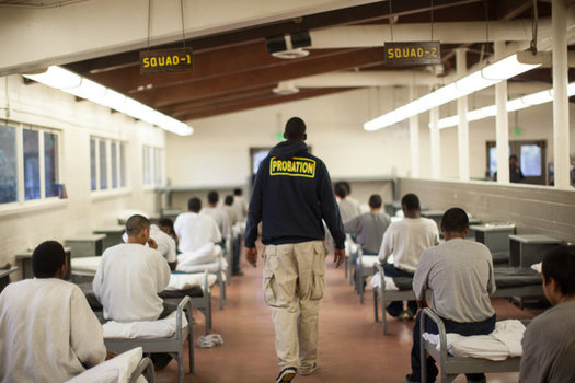 A new report says restorative-justice programs for young people work better to reduce repeat offenses and cost considerably less than traditional prosecution, incarceration and probation. (Los Angeles Youth Justice Coalition)