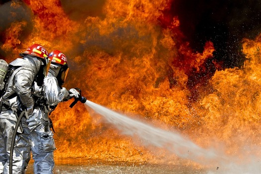 Perfluoroalkyl and polyfluoroalkyl substances (PFAS) are a large group of human-made chemicals used in industry and consumer products worldwide since the 1950s, including firefighting foam. (Pixabay)