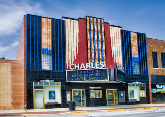Charles City, Iowa's second livable community as defined by AARP, is home to a vintage movie house with nightly film screenings.(cinematreasures.org)