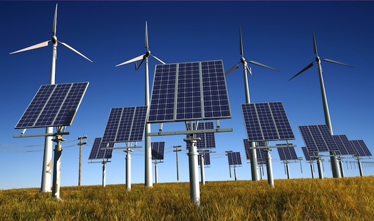 The bill requires New York to get 70% of its power from renewable sources by 2030. (Kovalenko I/Adobe Stock)