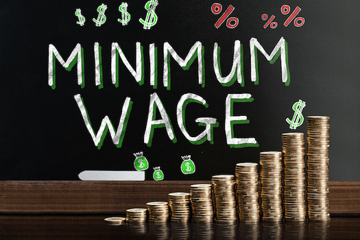 Four of Idaho's neighboring states have raised their minimum wage amounts. (Andrey Popov/Adobe Stock)