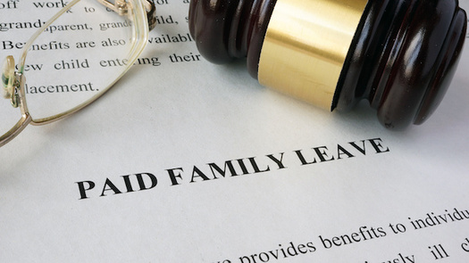Under a paid family and medical leave bill in the Oregon State Legislature, workers would get 100% of wages while they're out on leave. (designer491/Adobe Stock)