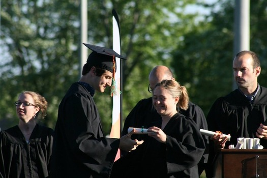 The on-time high school graduation rate in Pennsylvania is 87%, a 24% improvement since 2011. (matoue/pixabay)