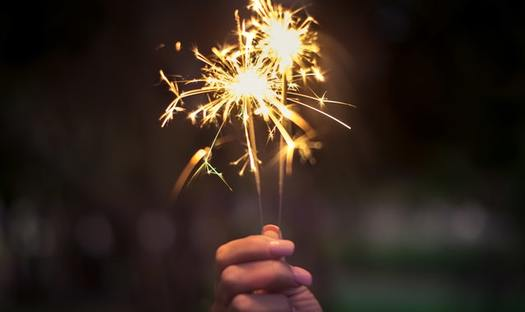 Sparklers are the number-one cause of firework-related burns in children under age 5. (John Paul Tyrone Fernandez/Pexels)