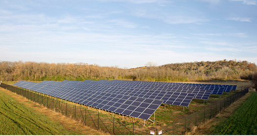 Iowa is a major wind-power provider, but ranks 29th among U.S. states for solar investment, despite solar rooftops' ability to provide 20% of all electricity used in the state. (cfra.org)