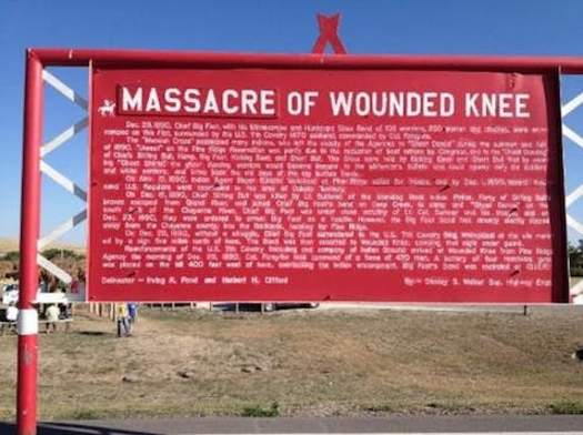 Nine South Dakota Native Americans traveled to Washington, D.C., on Tuesday to participate when legislation was introduced to revoke medals of honor awarded to U.S. soldiers following the 1890 Wounded Knee massacre. (newsmaven.io)