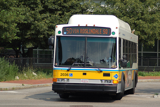The MBTA has the second highest derailment rate of any transit system in the country. (Robert McConnell/Wikipedia)