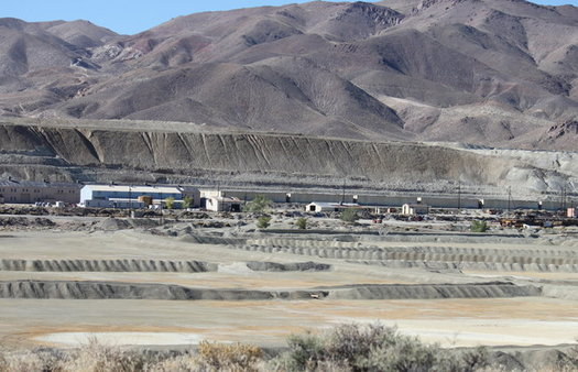 The Anaconda Copper Mine was most active from 1952 to 1978 and closed in 2000. Dietrick McGinnis)