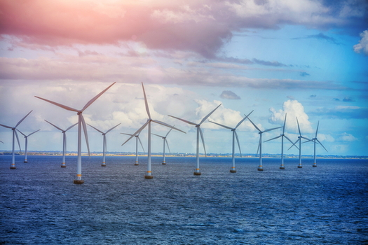 A wind farm planned off the Maryland coast will provide more than 10 gigawatts of offshore wind energy capacity by 2030, according to the Danish company behind the project. (Max Topchii/Adobe Stock)