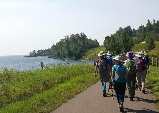 The Superior Hiking Trail, located on Minnesota's North Shore is a 310-mile footpath that follows the ridge line overlooking Lake Superior. (sierraclub.org)