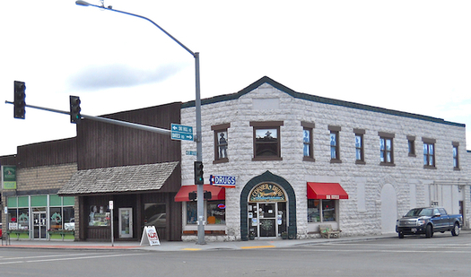 The small Idaho community of Driggs was chosen to receive an AARP Community Challenge grant.(Idahomiller/Wikimedia Commons)