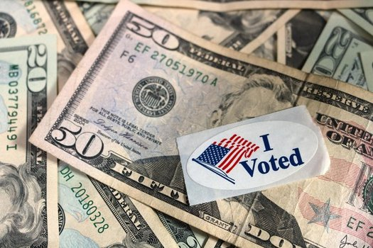A new report estimates that Americans owe $50 billion in post-conviction fines and fees, which can affect their right to vote. (Dodgerton Skillhause/Morguefile)