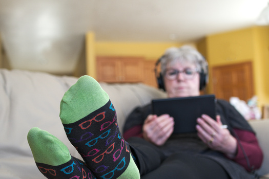 Data shows older Americans are increasing their screen time � television, computer, tablet and phone � even more than teenagers or young adults. (Adobe Stock)