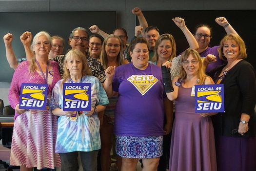 A new contract at medical centers in central Oregon includes the biggest pay increase for workers in two decades. (SEIU Local 49)