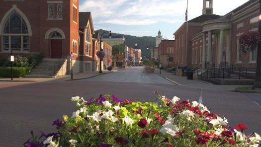 The Eastern Kentucky city of Pikeville will begin construction to improve its downtown arts district this fall. (Ronnie Hylton/PikeTV)