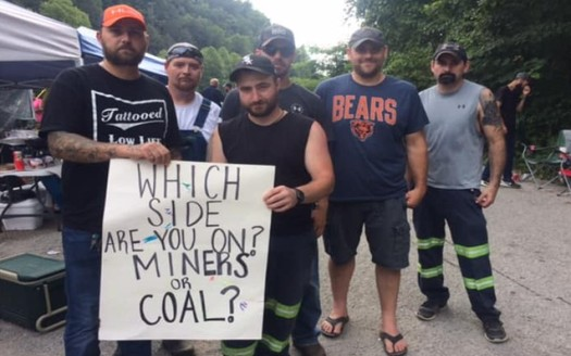 A number of public officials have come out in support of the laid-off Blackjewel miners, who are blocking coal shipments over their bounced paychecks. (Blackjewel Coal LLC Facebook Group)