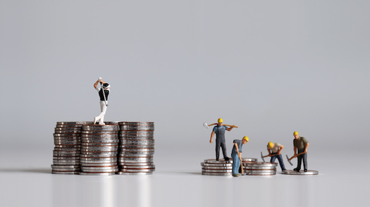 The ratio of CEO-to-worker compensation is 4.7 times greater than it was 30 years ago. (Hyejin Kang/Adobe Stock)