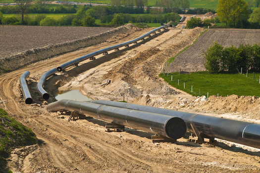 Fossil fuel infrastructure in the U.S. includes about 2.6 million miles of pipelines. (Reinhard Tiburzy/Adobe Stock)