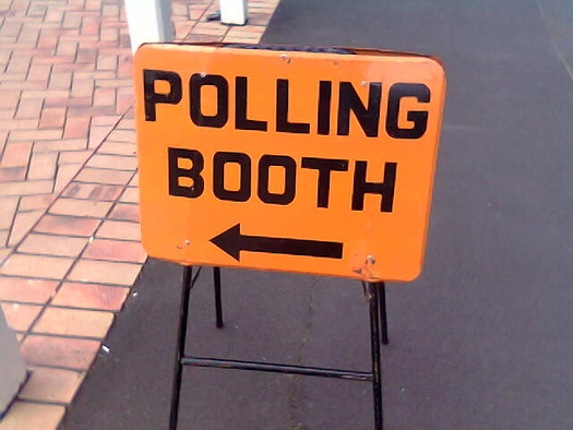 Opponents have said the state's use of the Interstate Voter Registration Crosscheck database would result in thousands of Hoosiers being removed from voter rolls. (Amanda Wood/Flickr)
