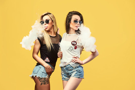 Vaping fluid marketed to teens comes in flavors such as mango, mint, cotton candy and gummy bear. (Zamuruev/Adobestock)