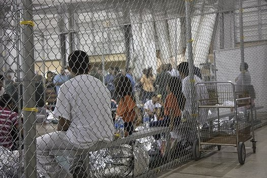 At least 1,396 people have gone on hunger strike in 18 U.S. detention centers since May 2015, according to the group Freedom for Immigrants. (U.S. Customs and Border Protection/Wikimedia Commons)