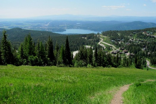 Whitefish, Mont., implemented its Climate Action Plan in 2018, providing a potential model for other rural towns. (-ted/Flickr)