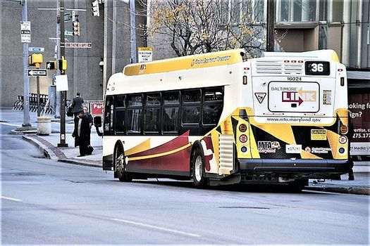 In 2017, Baltimore overhauled its bus system, but studies show it didn't help buses move faster. (Wikimedia Commons)